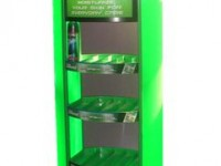 GILLETTE DISPLAY STAND