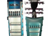 GILLETTE PROMOTIONAL STAND