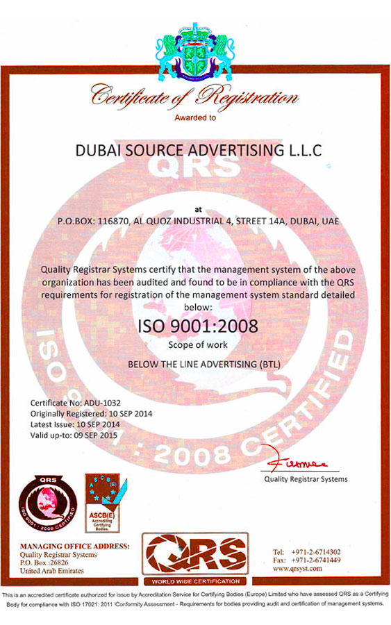 Dubai Source Advertising LLC