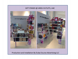 GIFT STANDS @ AREEJ OUTLETS, UAE