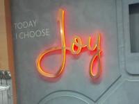 Joy Illuminated 3D Sign