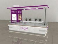 MGD Bin Sougat Centre Kiosk   Design and Build by DSA